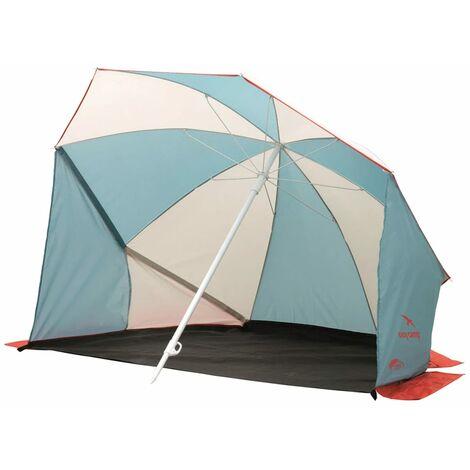 Easy Camp Sombrilla protectora de playa Coast gris y azul 120298