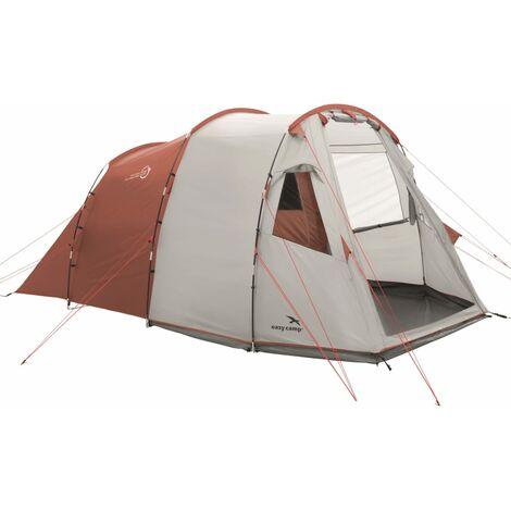 Easy Camp Tente Huntsville 400 4 places Rouge et crème
