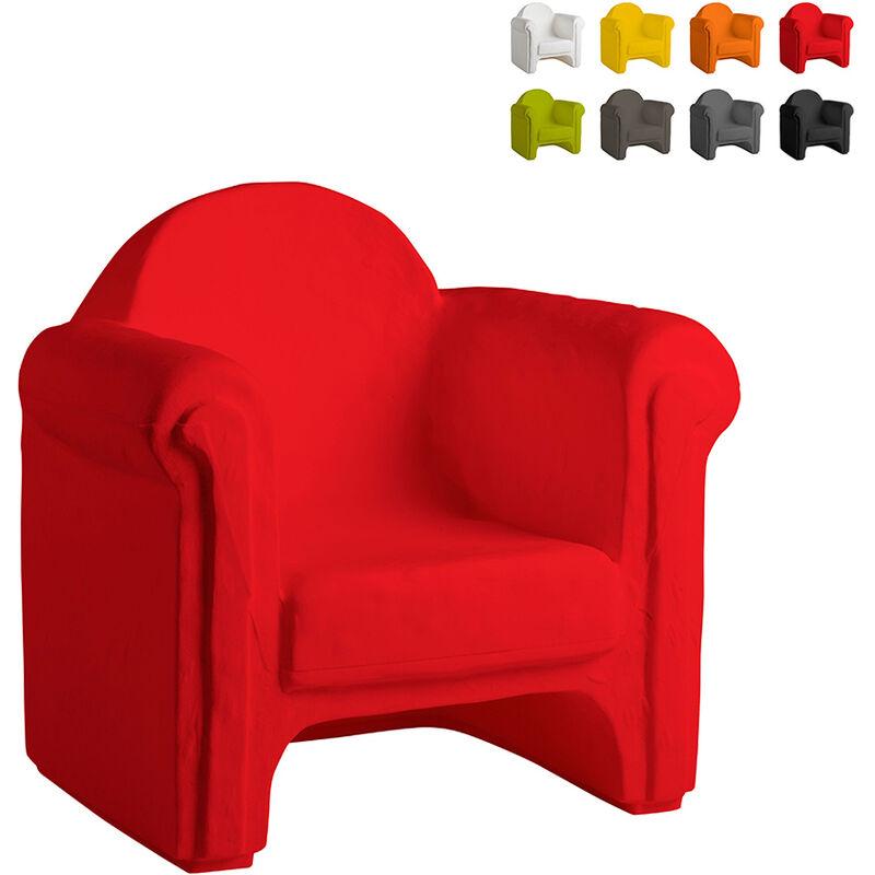 Slide - Sessel für Zu Hause und Vor Ort Easy Chair | Farbe: Rot