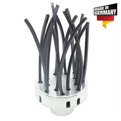 """main image of """"Easy-Cleaner- / brosse de désherbage 10mm adaptée à toutes les débroussailleuses M10 à gauche"""""""
