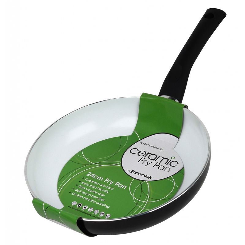 Image of Non Stick Ceramic Frying Pan - 28cm - Easy Cook