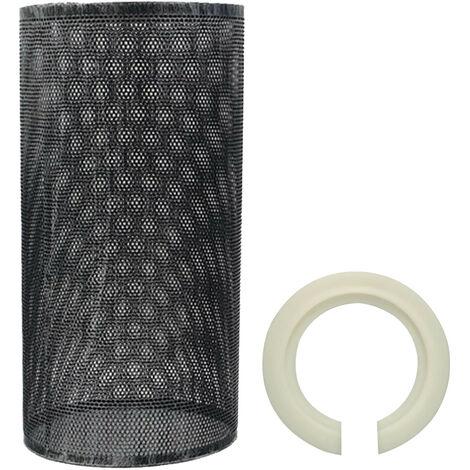 Easy Fit Drum Lampshade Pendant Light Shade Black Colour
