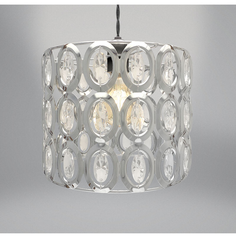 Image of Easy Fit Light Decoration Silver 18cm
