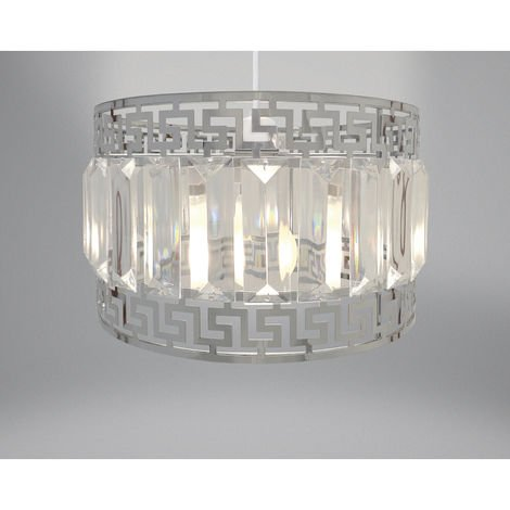 Easy Fit Light Decoration Silver 24cm