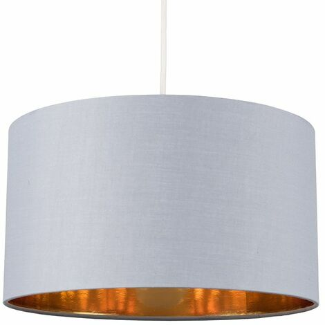 Easy Fit Pendant Light Shade 35cm Fabric Lampshade Table Lamp Ceiling