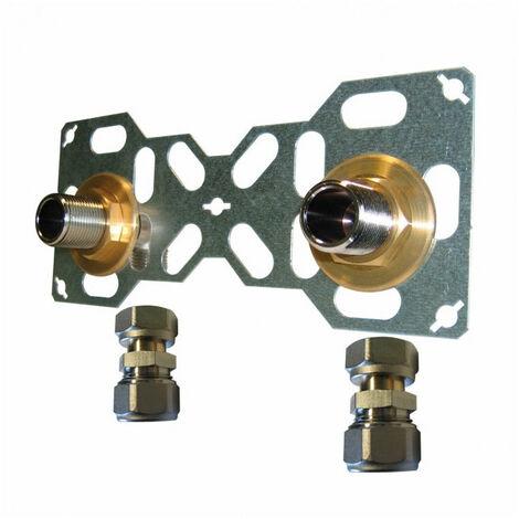 Easy Fix Double à compression pour tube Multicouche