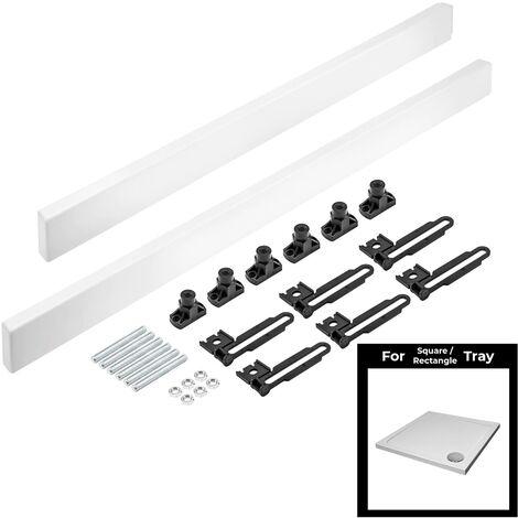 Easy Plumb Riser Kit for Square/Rectangle Tray