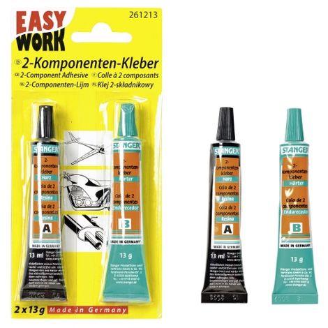 EASY WORK Zwei-Komponenten-Kleber 2x13g
