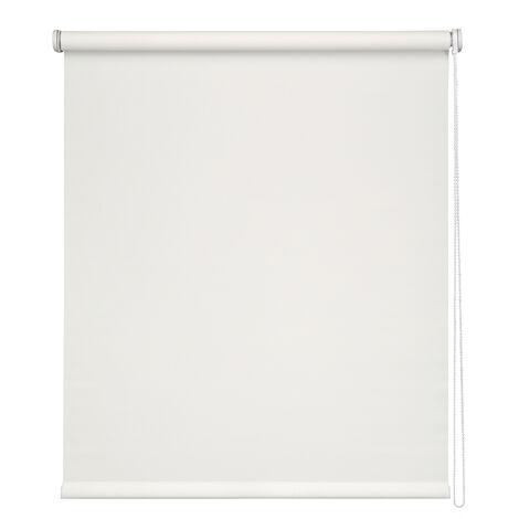 Easydeco - Estor Enrollable Screen (Blanco, 165_x_250_cm)
