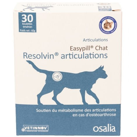 Easypill Resolvin Articulations pour chats