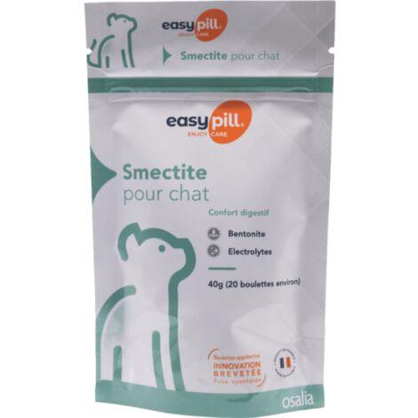 Easypill Smectite Compléments alimentaires anti-diarrhée pour chats