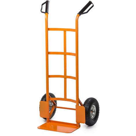 Easytools carrello portapacchi bravetta 200kg per trasporto con ruote pneumatiche ET52961