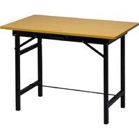 Easytools Tavolo banco da lavoro richiudibile 100cm ripiano in legno ET53045