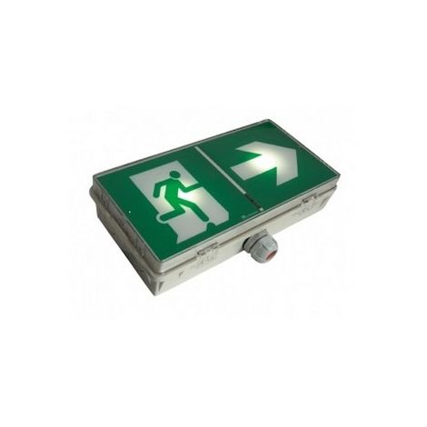 Eaton Luminox Lum16005 evacuation block UltraLED 45es Sati waterproof 100% LEDS