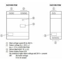 Eaton Moeller DIN Rail Power Supply EASY400-POW 24VDC
