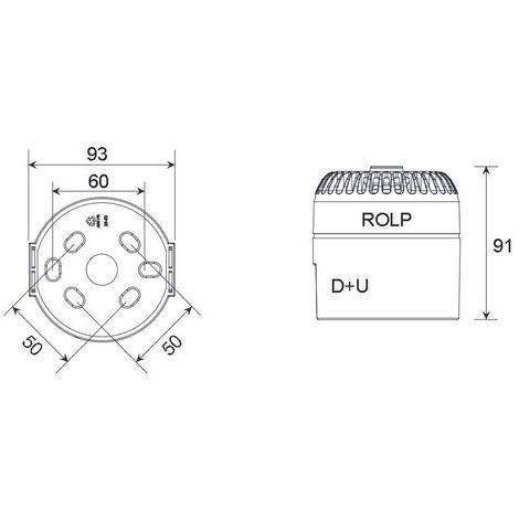 Eaton ROLP/C/B/T/L/Cls B/24+48V Fire alarm sound device