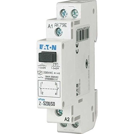 EATON Z-R230/S RELAIS D'INSTALLATION, ALT R3097, 1GANG UNIPOLAIRE 230V AC, 265149