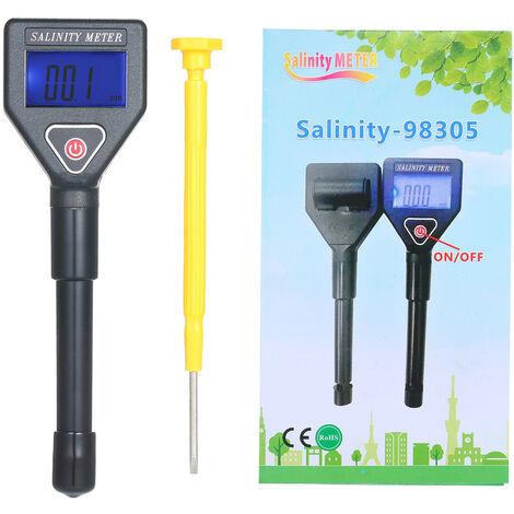 Eau De Mer Salinite Refractometre Portable Salinity Metre Portatif Atc Salinometre Aquarium Halometer Sel Jauge D'Eau De Mer Testeur