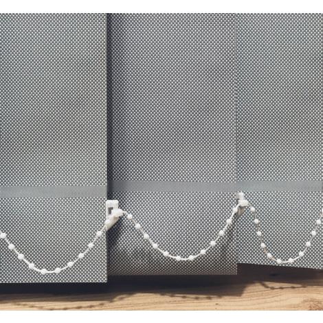 EB ESTORES BARATOS Cortina de Lamas Verticales Tecnoscreen/Bloqueo UV 70% con Transparencia. lo ajustamos a su Medida Ancho x Alto.