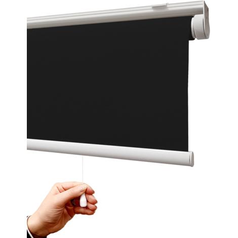 EB ESTORES BARATOS Estor Auto-Enrollable a Muelle/Opaco Premium/sin Cadena/Cierra la luz y Reduce el Calor/Ajustable en Medidas.