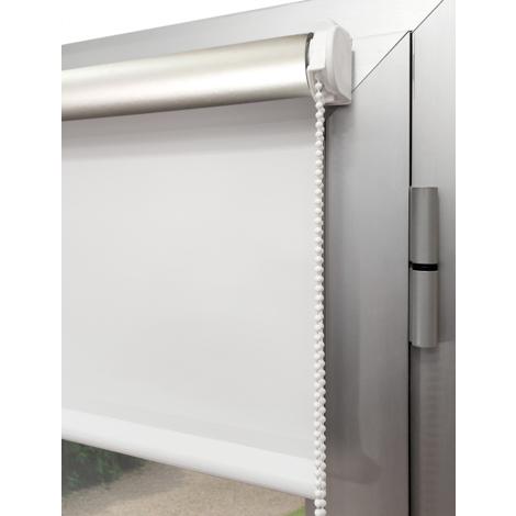 EB ESTORES BARATOS Estor Opaco Termoregulador Metalizado para Colgar sin Agujeros. Capa Exterior Plata Que neutraliza los Rayos UV. Medida Ancho x Alto.