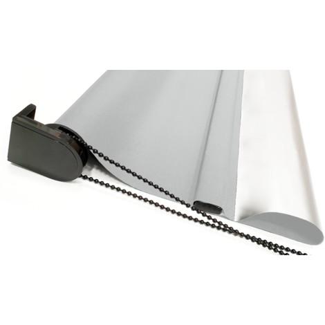 EB ESTORES BARATOS Estor Opaco Termoregulador Metalizado Ð Reverso Exterior Reflector Plata. Cortina TŽcnica Que repele el Sol.