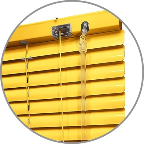 EB ESTORES BARATOS Persiana Veneciana de Aluminio/Calidad Tiendas/instalaci—n Universal a Pared o Techo. Se lo ajustamos a su Medida Ancho x Alto.