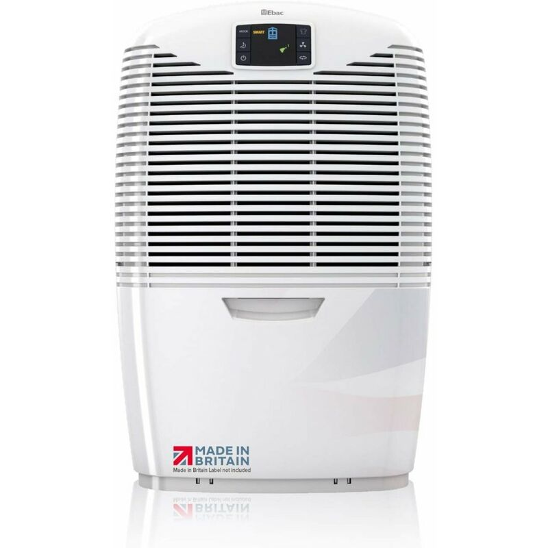 Image of Ebac 3850e , 21 Litre Dehumidifier with Free 2 Year Warranty, White