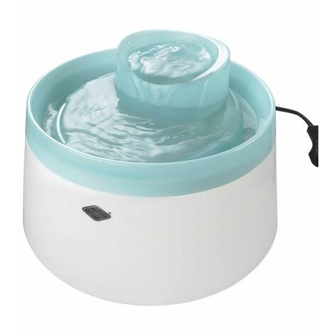 Ebi Haustier-Wasserspender Cascade 22 x 15 cm 1,5 L Blau 603/445785