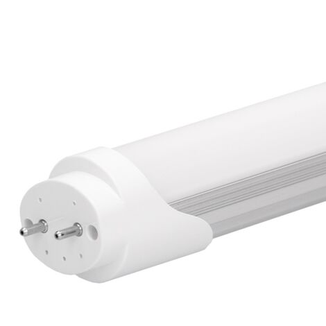 ECD Germany 16 x LED tubo fluorescente blanco frío 20W 120cm LED: 2835 SMD 1612 lúmenes LED con extremo de los tubos giratorio Ángulo de haz: aprox. 160 °