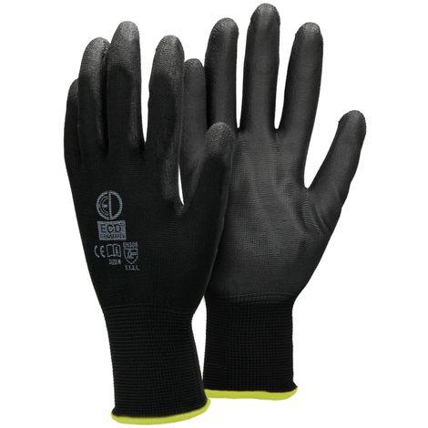 Látex verde tamaño xl jardín guantes de trabajo guantes guantes de protección Kreator