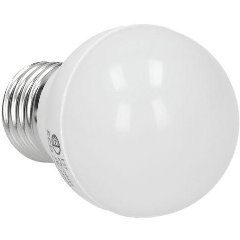 ECD Germany Bombilla Led 3W E27 - 6000 Kelvin blanco frío - 200 lúmenes - 220-240 V - Bombillas de bajo consumo - lámpara incandescente de 25W