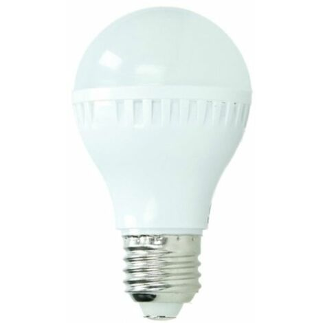ECD Germany Bombilla LED E27 5W 220-240V 335 lumens Reemplaza lámpara halógena de 40W blanco cálido Lámpara ahorradora de energía de 2800K