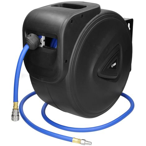 Automatik Druckluft-Schlauch 13 Meter Schlauchtrommel Aufroller Trommel 180°