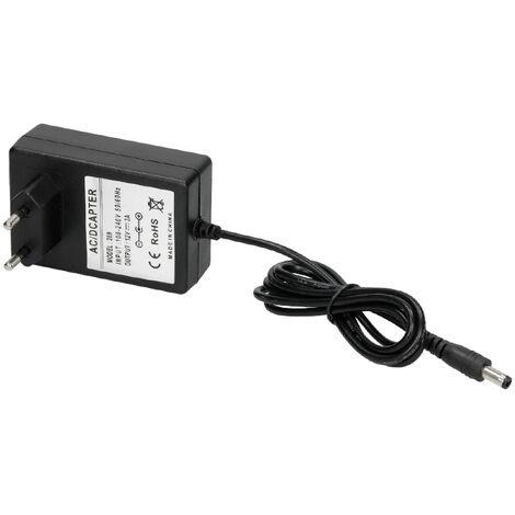 ECD Germany Fuente de alimentación Transformador Adaptador de corriente 12V 3A 36W para LED SMD RGB