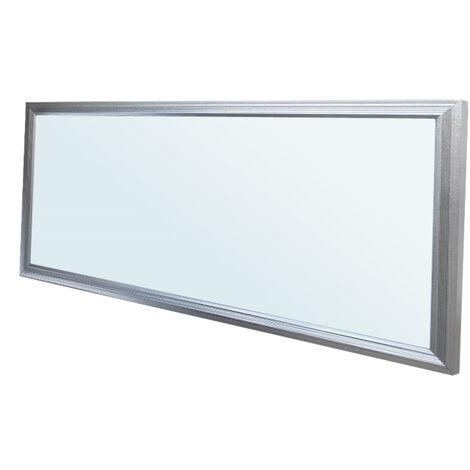 ECD Germany LED Panel ultradelgado con material de montaje 18W - 60 x 30 cm - Blanco frío 6000K - Ultrafino 1450 lumens - Lámpara empotrada en el techo