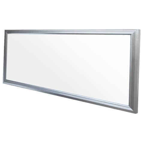ECD Germany LED Panel ultradelgado con material de montaje 18W - 60 x 30 cm - Blanco neutro 4000K - Ultrafino 1380 lumens - Lámpara empotrada en el techo