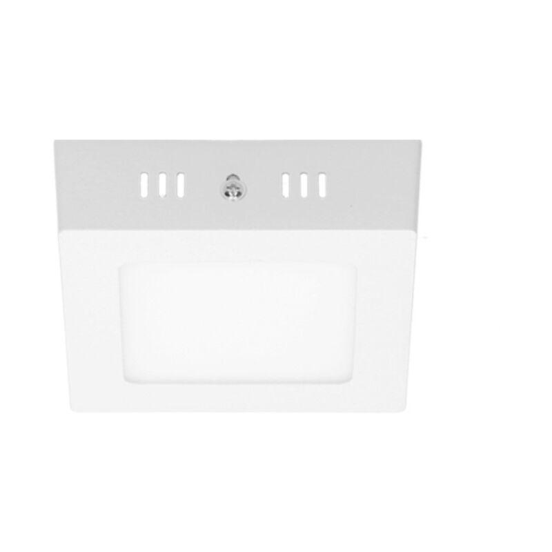 ECD Germany Plafoniera a LED 12W AC 220-240 V 663 Lumen 170 x 170 mm IP53 LED Pannello Bianco Caldo 3000K Quadrato Faretto da Incasso Pannello LED