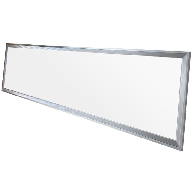 Pannello LED Ultra Sottile 42W 220-240V SMD 3014 120x30 cm Bianco Caldo 2700K 2640 Lumen Plafoniera Incasso Luce Soffitto - Ecd Germany