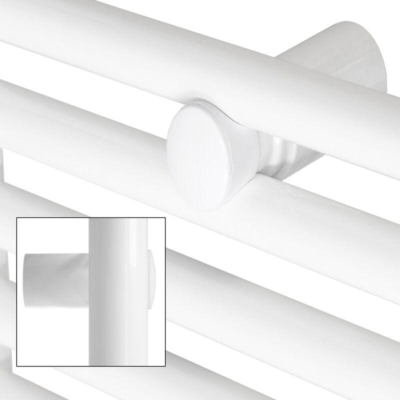 400 x 1200 mm Cromo ECD Germany Radiador el/éctrico de toallas con conexi/ón lateral Plano Calentador de toallas 1200W