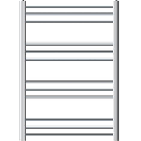 Blanco ECD Germany Radiador toallero para ba/ño 300 x 1400 mm secador de Toallas Radiador Moderno Recto con conexi/ón Lateral