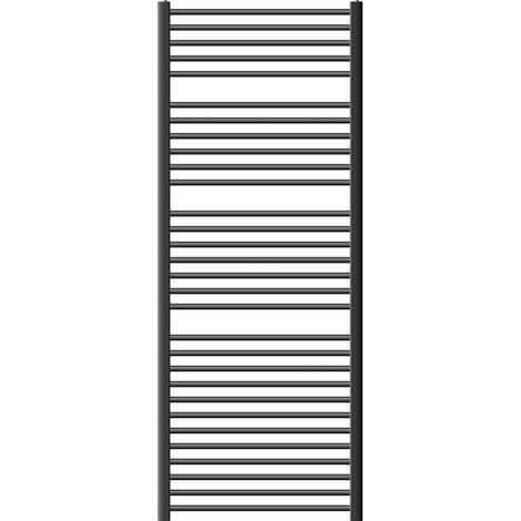 ECD Germany Radiador toallero Sahara - 750x 1800 mm antracita - curvado con conexión lateral - Radiadores de agua calefaccion
