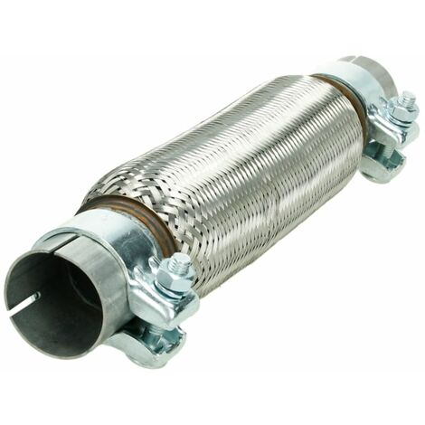 Flexrohr Flexstück Auspuff 55x100//200 mm ohne schweißen universal inkl Schellen