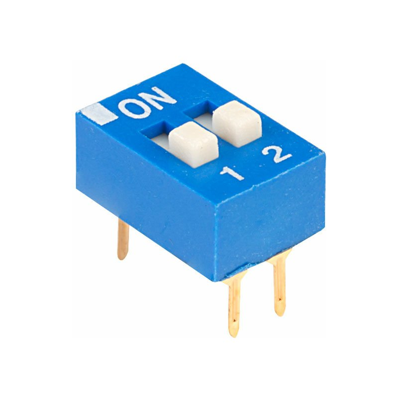 Image of EDG102S Excel 2 Pole 4 Pin DIL Switch - ECE