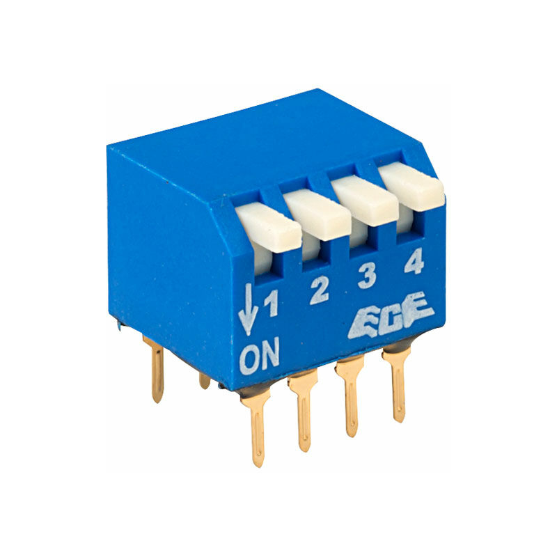 Image of ECE EPG104A 4 Pole 8 Pin Piano DIL Switch