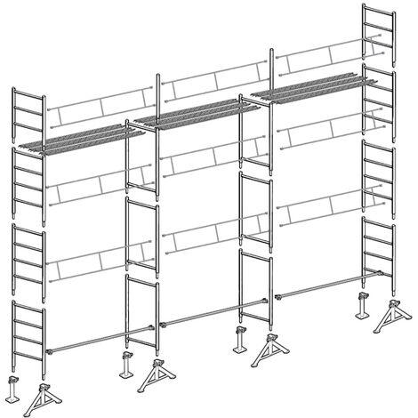Échafaudage 49 de Maçon 80 m²
