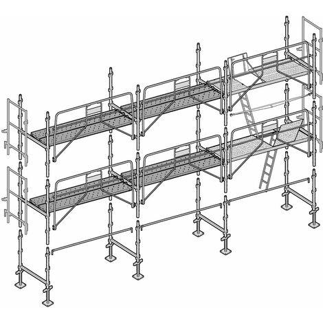 Échafaudage Altrad Façadier 60 m²
