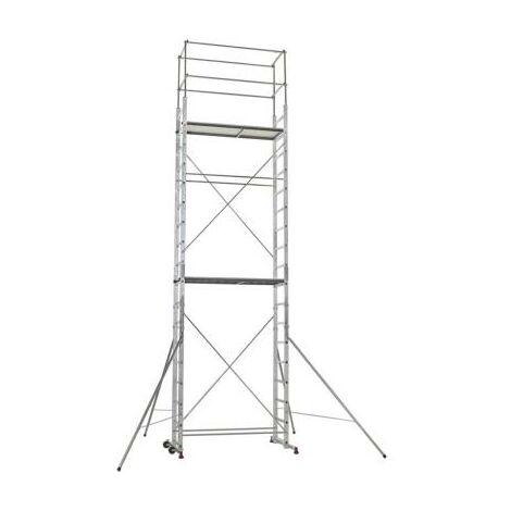 Échafaudage aluminium 7 m