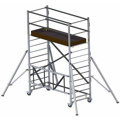 Echafaudage pliant - Longueur plateau 1.48m (plusieurs tailles disponibles)