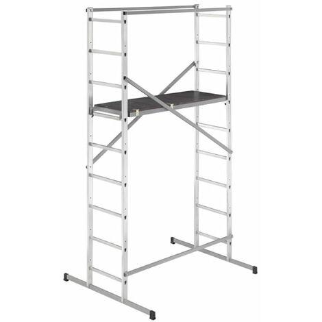 Echafaudage pour escalier : 4m haut. travail max